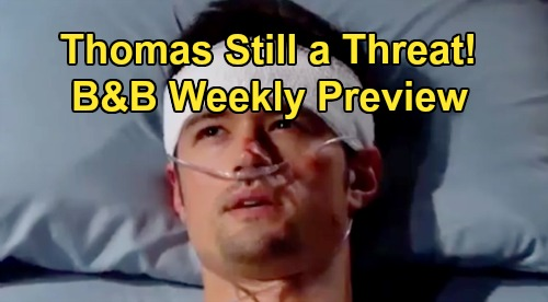 The Bold and the Beautiful Spoilers: Week of September 2 Preview – Flo's Killer Accusations – Vengeful Bill Threatens Thomas