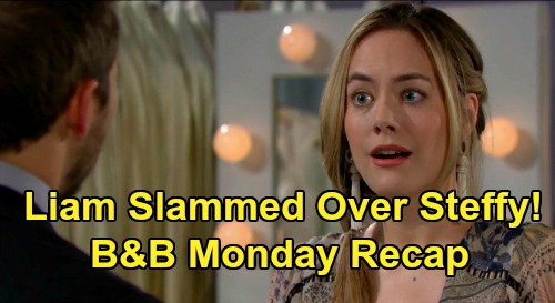 The Bold and the Beautiful Spoilers: Monday, February 17 Recap - Hope Blasts Liam Over Steffy - Flo & Wyatt Put Sally First