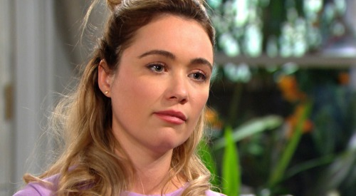 The Bold and the Beautiful Spoilers: Tuesday, April 21 Recap - Sally Admits Faking, Lashes Out At Flo - Katie & Quinn Pick On Wyatt