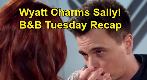 The Bold and the Beautiful Spoilers: Tuesday, February 25 Recap - Katie Tells Ridge & Steffy Sally's Dying - Wyatt Charms Sally