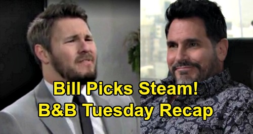 The Bold and the Beautiful Spoilers: Tuesday, January 28 Recap - Quinn Promises To End Brooke - Bill Wants Liam With Steffy - Shauna Packs Up