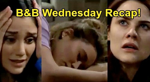 The Bold and the Beautiful Spoilers: Wednesday, April 22 Recap - Flo Tries To Text Wyatt, Penny Knocks Her Out Cold - Sally Horrified