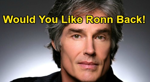The Bold and the Beautiful Spoilers: Would You Like To See Ronn Moss Return To B&B?