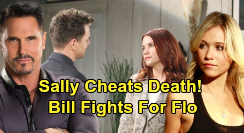 The Bold and the Beautiful Spoilers: Bill Fights for Flo After Sally Cheats Death – Wyatt's Torn Heart Brings Meddling Dad Drama?