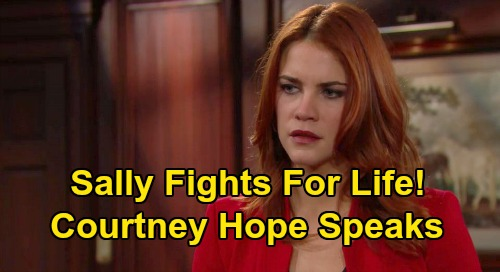 The Bold and the Beautiful Spoilers: Sally Fights For Life in Health Battle – Courtney Hope Previews Wyatt Split, Devastating Illness