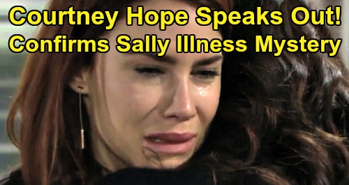 The Bold and the Beautiful Spoilers: Courtney Hope Confirms Sally's Mystery Illness – Death or Miracle Recovery Possible - B&B Fans Complain