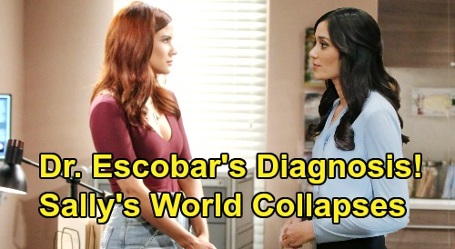 The Bold and the Beautiful Spoilers: Dr. Escobar Debuts to Change Sally's World Forever – New Details About Awful Diagnosis