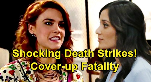 The Bold and the Beautiful Spoilers: Shocking Death Strikes - Sally's Fake Illness Cover-Up Spirals Out of Control?