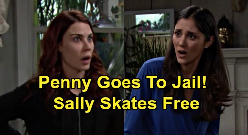 The Bold and the Beautiful Spoilers: Penny Goes To Jail – Sally Skates Free - Who's Really Responsible For Flo & Wyatt Tragedy?