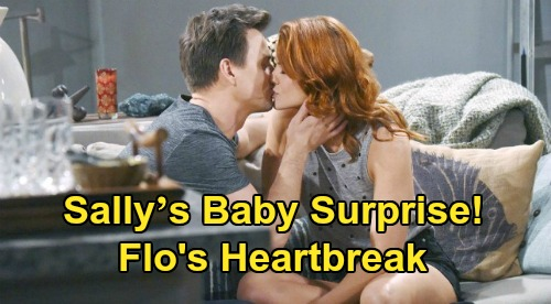 The Bold and the Beautiful Spoilers: Sally's Baby Surprise After Wyatt Reunion – Miraculous Recovery Brings Flo Heartbreak, 'Wally' Family?