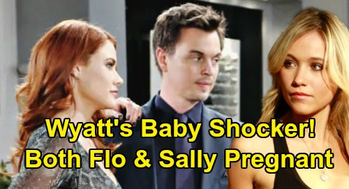 The Bold and the Beautiful Spoilers: Wyatt Faces Dual Baby Shocker - Both Sally & Flo Pregnant After Miracle Cure?