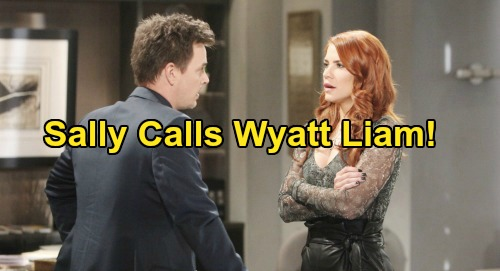 The Bold and the Beautiful Spoilers: Wyatt Done Chasing After Liam's Women – Sally Struggles to Convince Fiance She's Over Brother