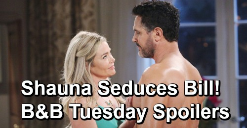 The Bold and the Beautiful Spoilers: Tuesday, May 14 - Flo Learns She Has A New Home - Katie Enlists Shauna To Seduce Bill