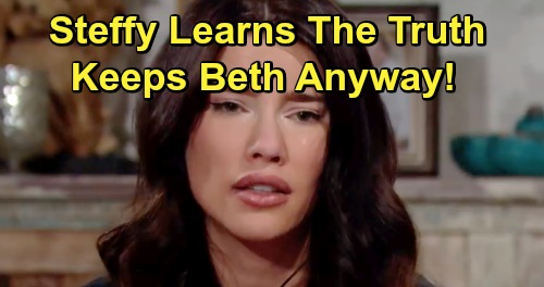 The Bold and the Beautiful Spoilers: Steffy Learns She Adopted Beth - Protects Family Dreams, Wants Lope Baby for Herself?
