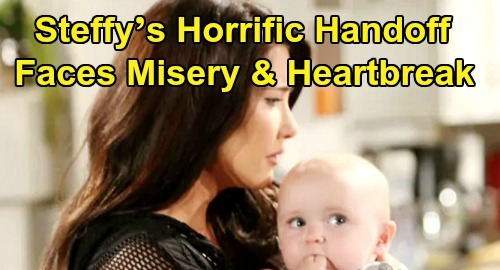 The Bold and the Beautiful Spoilers: Steffy's Horrific Handoff, Must Give Hope Beth – Faces Phoebe's Empty Crib and Misery