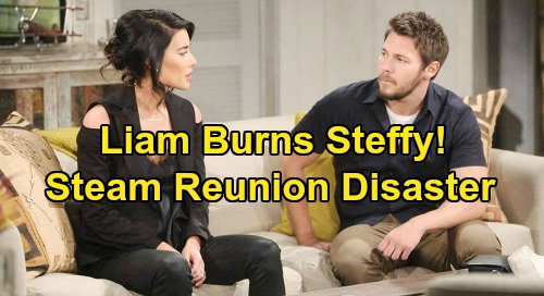 The Bold and the Beautiful Spoilers: Steffy Burned by Liam Again – Seeks New Man After 'Steam' Reunion Ends in Disaster?