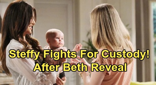 The Bold and the Beautiful Spoilers: Steffy Fights for Custody After Big Reveal – Insists Hope Is Unstable, Can't Be Beth's Mom
