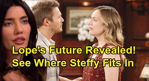 The Bold and the Beautiful Spoilers: See Where Steffy Fits In - Scott Clifton & Annika Noelle Reveal What's Next for Liam & Hope