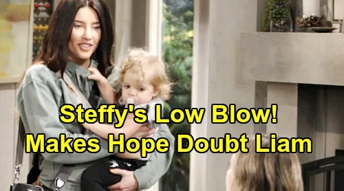 The Bold and the Beautiful Spoilers: Steffy's Low Blow Shatters Hope – Brings Doubts About Liam's Loyalty
