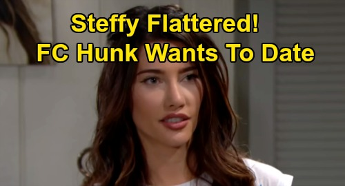 The Bold and the Beautiful Spoilers: Steffy Flattered When New Man Flirts – Forrester Creations Hunk Asks Steffy Out