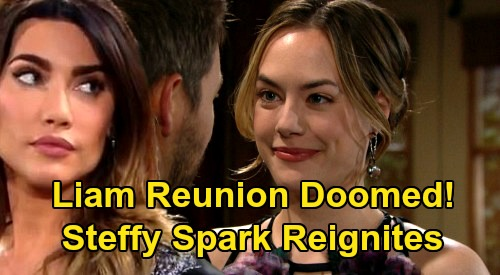 The Bold and the Beautiful Spoilers: Heartbreak for Hope, Liam Reunion Doomed – Steffy Spark Reignites Once Again?
