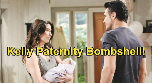 The Bold and the Beautiful Spoilers: Kelly Paternity Bombshell, Bill Fathered Steffy's Child Revisited – Don Diamont 'Would Love That'