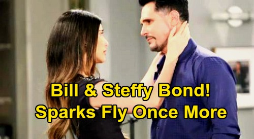 The Bold and the Beautiful Spoilers: Steffy & Bill Bond Trying to Fix Katie Split – 'Still' Sparks Fly Instead, Hot New Affair?