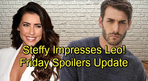 The Bold and the Beautiful Spoilers: Friday, November 2 Update – Steffy Impresses Leo the Single Forrester Buyer – Quinn's Crushing Blow