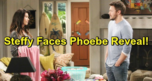 The Bold and the Beautiful Spoilers: Steffy Faces Angry Phoebe Reveal - Katie Hysterical Over Valentine's Day Divorce