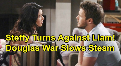 The Bold and the Beautiful Spoilers: Steffy Turns Against Liam After Douglas War Explodes – Hope & Brooke's Plot Brings Steam Setback