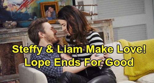 The Bold and the Beautiful Spoilers: Steffy and Liam Make Love, Commit to New Chapter – Final Nail in 'Lope' Coffin?