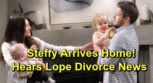 The Bold and the Beautiful Spoilers: Steffy Rocked by Lope Divorce News – Comes Home to Liam's Heartbreaking Bombshell