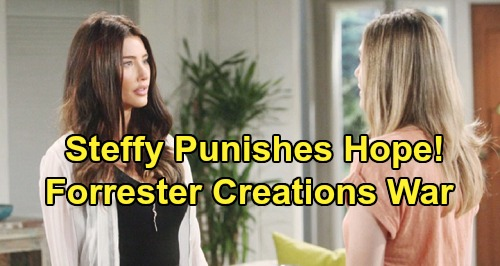 The Bold and the Beautiful Spoilers: Steffy Punishes Hope – Beth Aftermath Brings Forrester Creations War