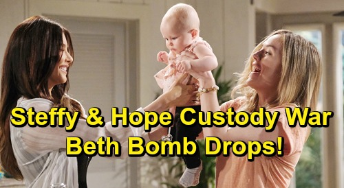 The Bold and the Beautiful Spoilers: Steffy and Hope's Vengeful Custody War – Beth Bomb Drops, Mom Battle Begins?