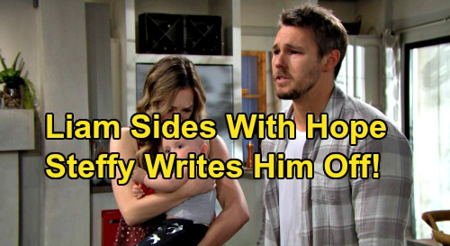 The Bold and the Beautiful Spoilers: Liam Sides With Hope, Leaves With Beth - Steffy Gutted, Vows Steam Finished Forever?
