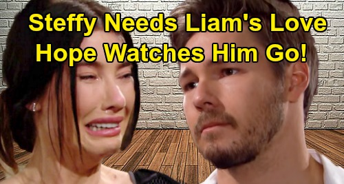 The Bold and the Beautiful Spoilers: Steffy's Nightmare Gets Worse, Liam's Love Only Cure – Jealous Hope Watches Him Slip Away