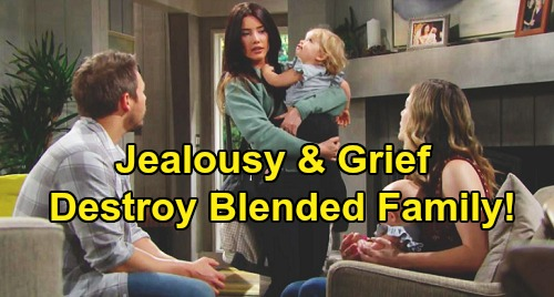 The Bold and the Beautiful Spoilers: Liam & Hope Want To Be Good To Steffy - But Grief Destroys Blended Family Harmony