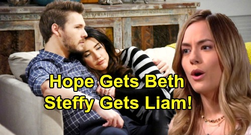 The Bold and the Beautiful Spoilers: Hope Gets Beth But Steffy Gets Liam - Lope Spark Gone – Steffy's Pull Too Strong?