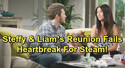 The Bold and the Beautiful Spoilers: Steffy and Liam's Reunion Fails – Heartbreak Waits For Steam