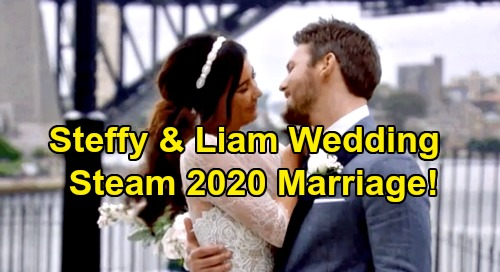 The Bold and the Beautiful Spoilers: Liam & Steffy's Wedding Looms in 2020 – Firm Commitment, New Beginning for Steam?