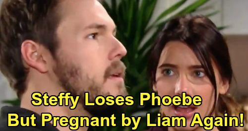 The Bold and the Beautiful Spoilers: Steffy Loses Phoebe To Hope - But Ends Up Pregnant With Liam's Baby?