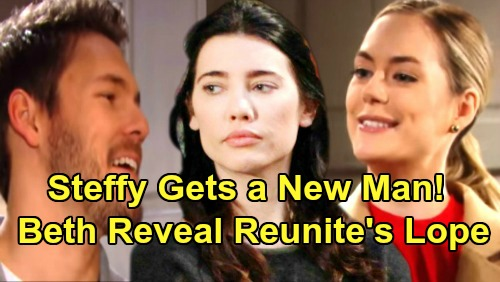 The Bold and the Beautiful Spoilers: Hope and Liam Reunite After Beth Reveal - Steffy Moves On With New Man