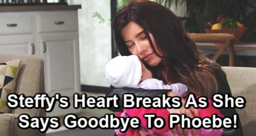 The Bold and the Beautiful Spoilers: Steffy's Heartbreaking Goodbye to 'Phoebe' – Distraught Mom's Sad Surrender of Beth