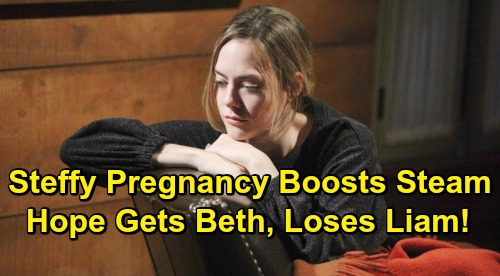 The Bold and the Beautiful Spoilers: Hope Gets Beth Back But Loses Liam - Steffy Pregnancy Revives Steam?
