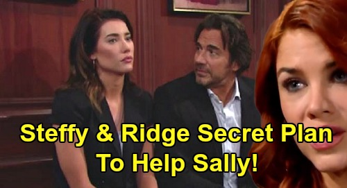 The Bold and the Beautiful Spoilers: Steffy and Ridge's Top-Secret Plan to Help Sally – Surprise as Sally Marches Toward Death