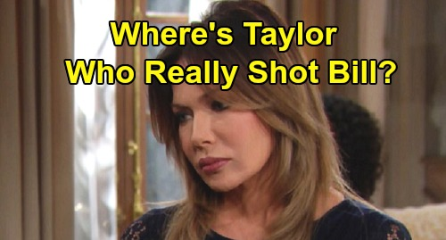 The Bold and the Beautiful Spoilers: Steffy's New Man - Who Really Shot Bill - Where's Taylor - B&B Fans Want Answers