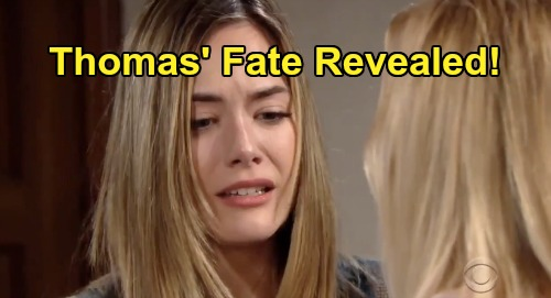 The Bold and the Beautiful Spoilers: Thomas Dead or Alive – Douglas Dad's Fate Revealed, What's Next for Hope