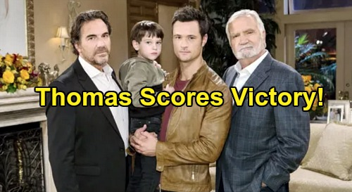 The Bold and the Beautiful Spoilers: Thomas Scores A Victory - Moves Douglas Into Forrester Mansion