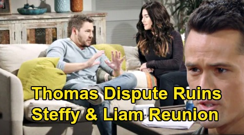 The Bold and the Beautiful Spoilers: Scott Clifton Says 'Steffy's Not Going to Cheerlead for Liam' – Thomas Issues Ruin 'Steam' Reunion