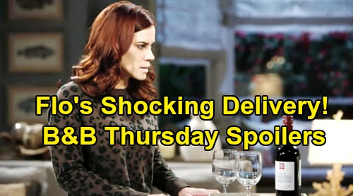 The Bold and the Beautiful Spoilers: Thursday, April 2 - Sally Sends Flo Shocking Special Delivery - Dr. Escobar's In Trouble
